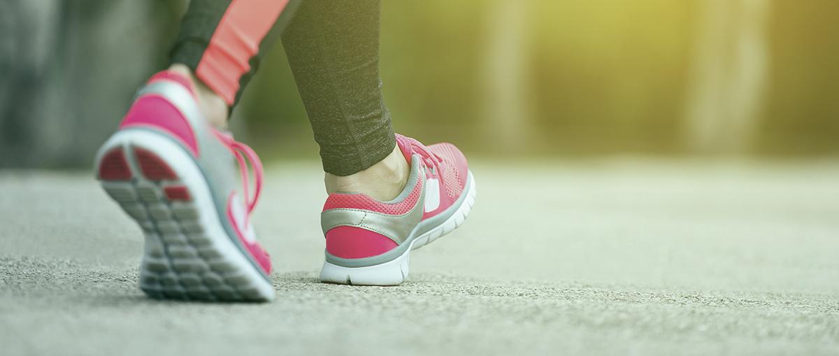 Happy feet - walking