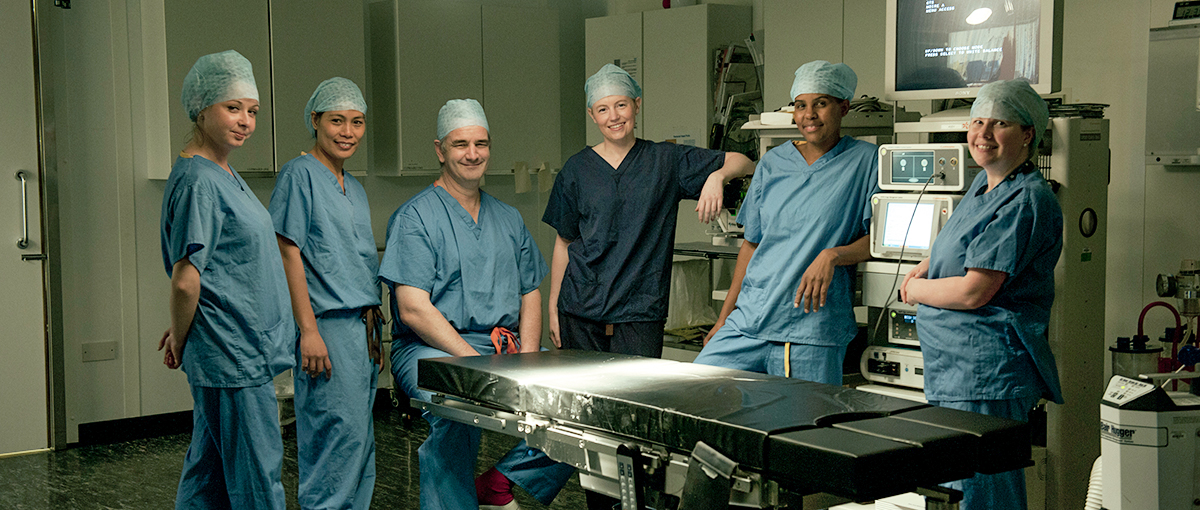 Cambridge Foot and Ankle Surgical Team